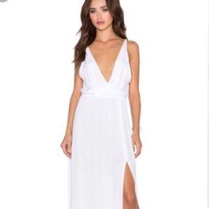 Shop planet blue, white maxi dress